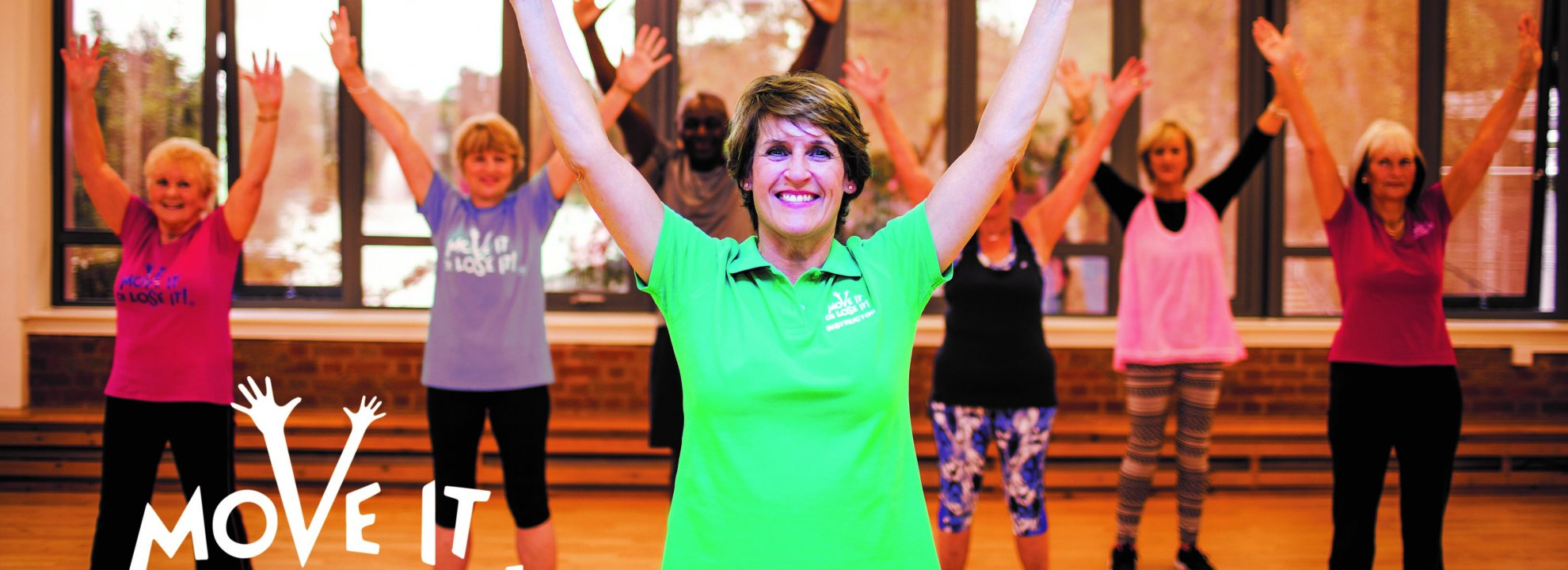 Wellington Exercise Class for the Over 60s (Fridays) Banner