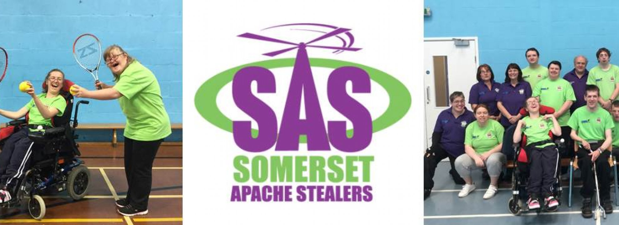Somerset Apache Stealers - Inclusive Multi-Sports Club (Yeovil) Banner