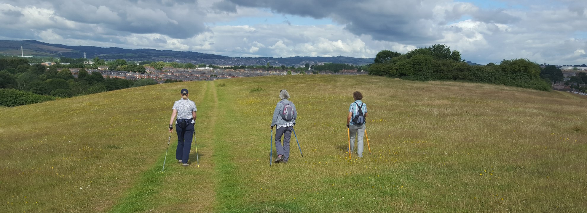 Nordic Walk - Ripple - Ludwell Valley Park Banner