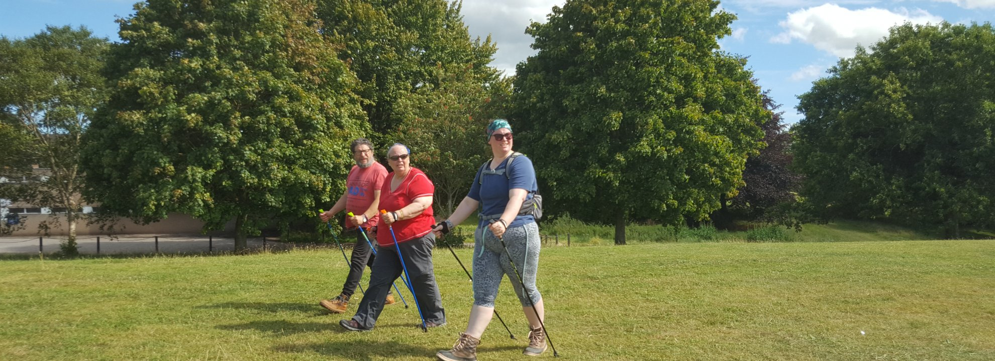 Learn the Nordic Walking Technique Banner