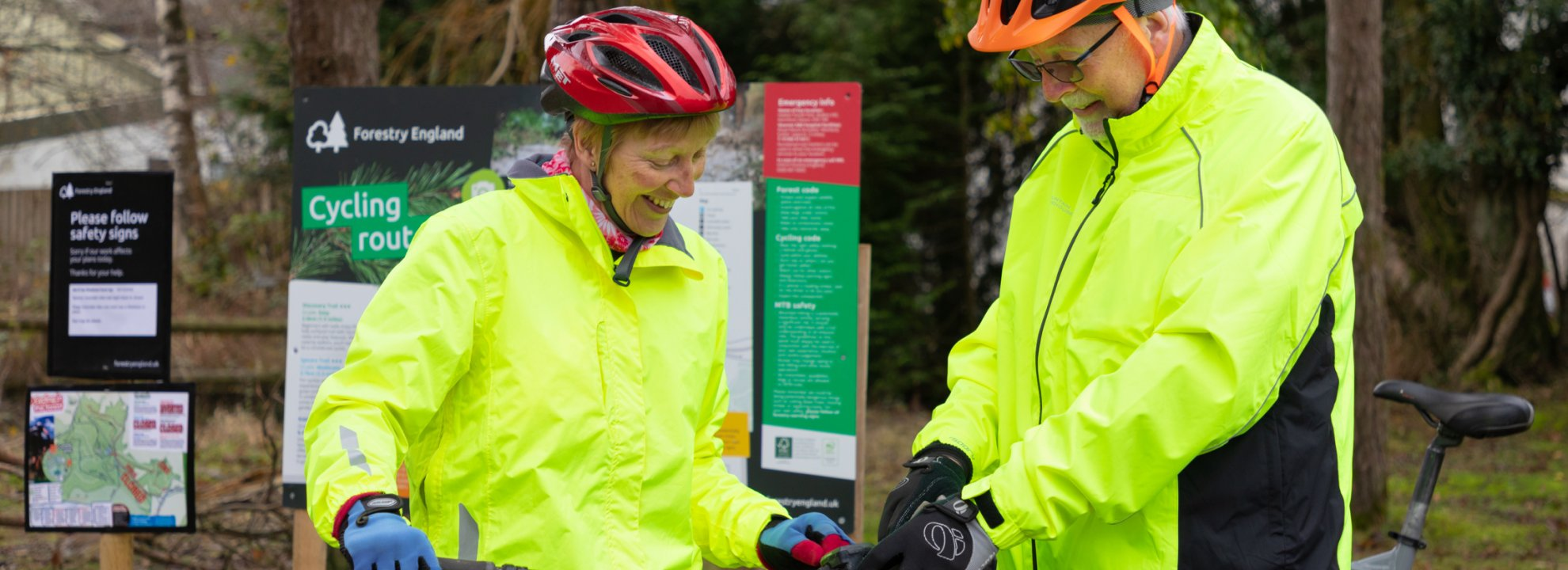 Beginners cycling - Haldon Forest Park Banner