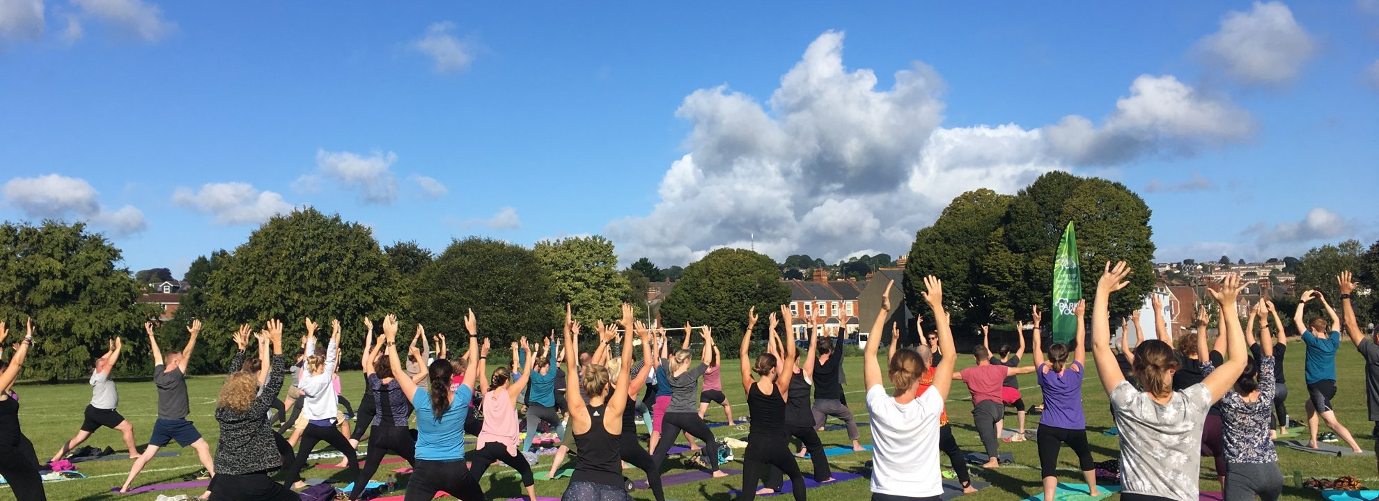 Yoga at Southmead Primary School Field Banner